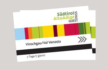 Die Vorteilskarte im Vinschgau