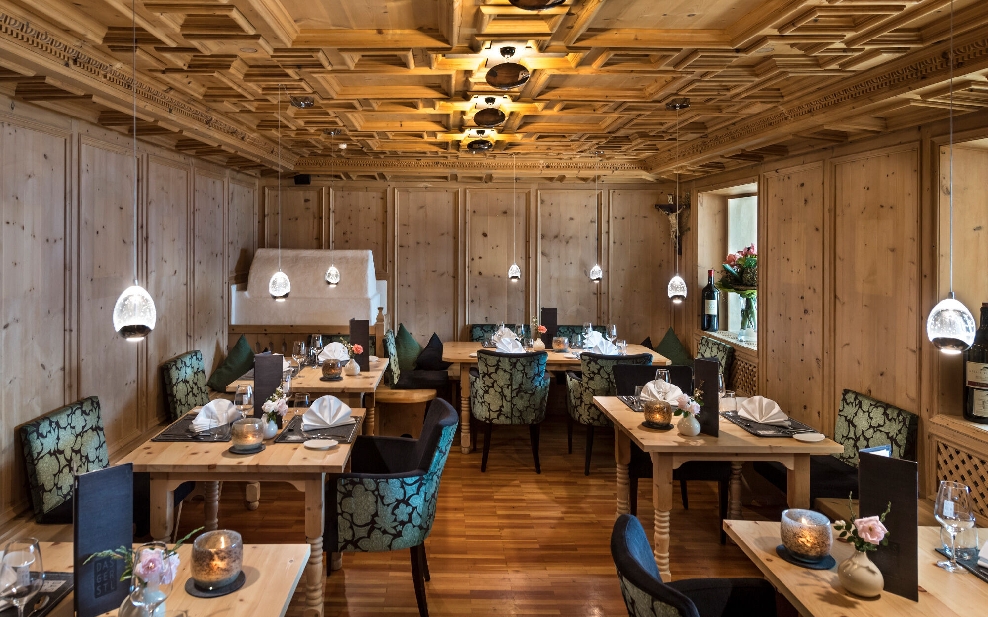 Herrliche Stube im Alpin & Relax Hotel Das Gerstl