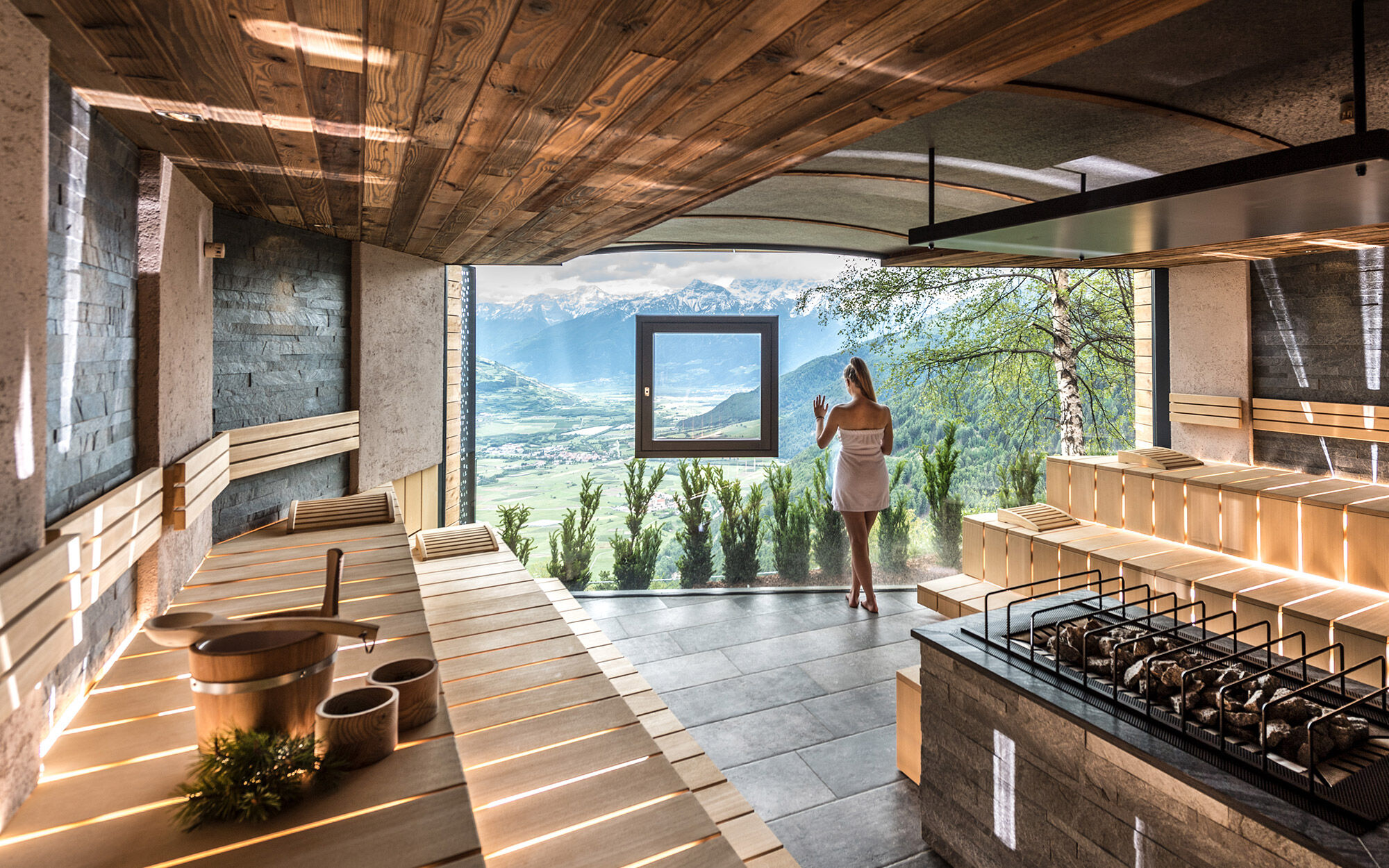 Erstklassige wellness in s dtirol im hotel das gerstl for Design wellnesshotel sudtirol