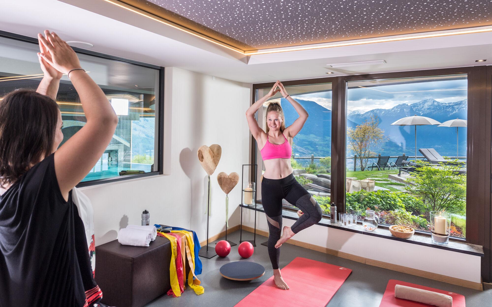 Fitnesseinheiten mit Silvia |