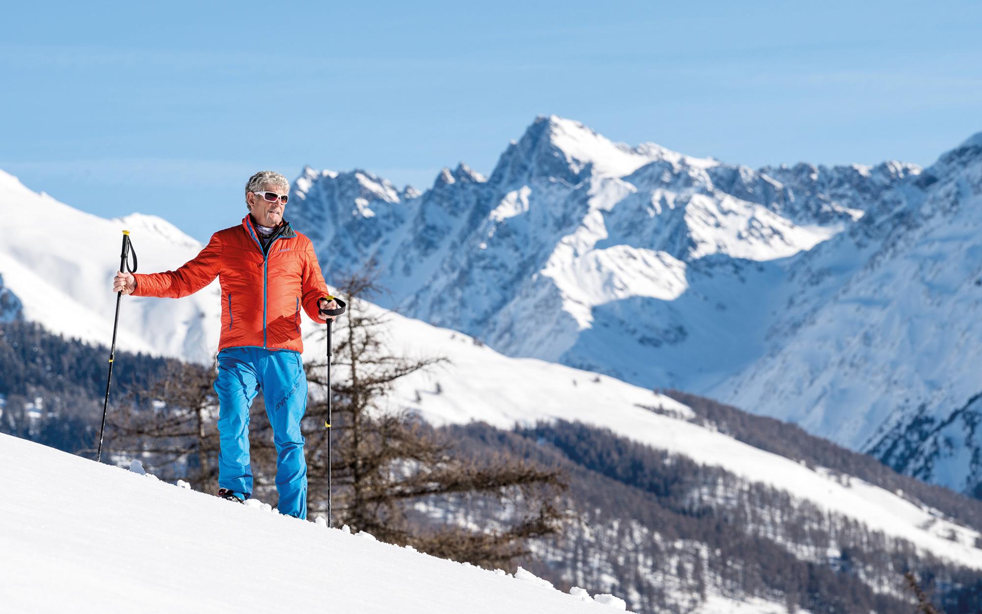 Traumhaft Sie Filmen Zwei Skifahrer | Healthupdates