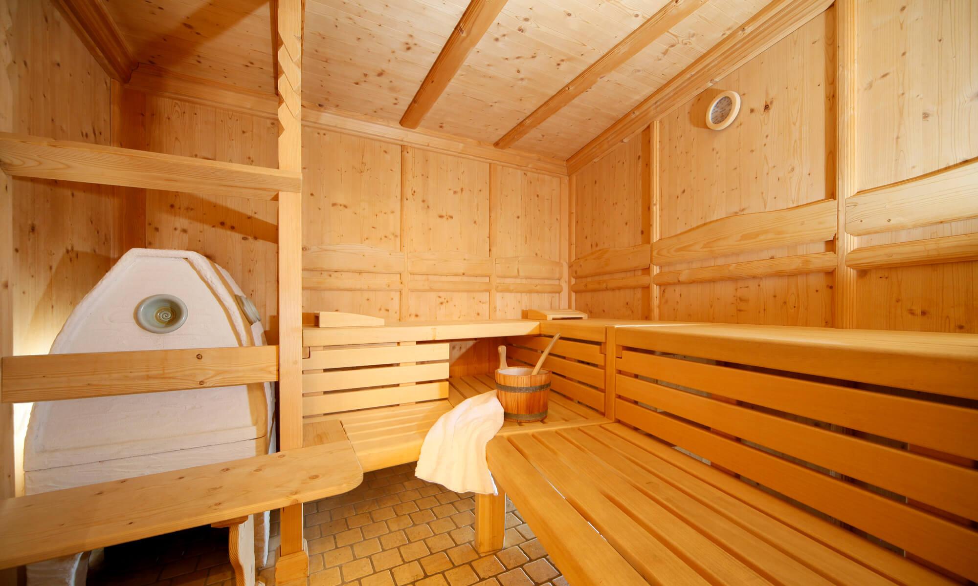 Sauna nackt familien Die Familiensauna