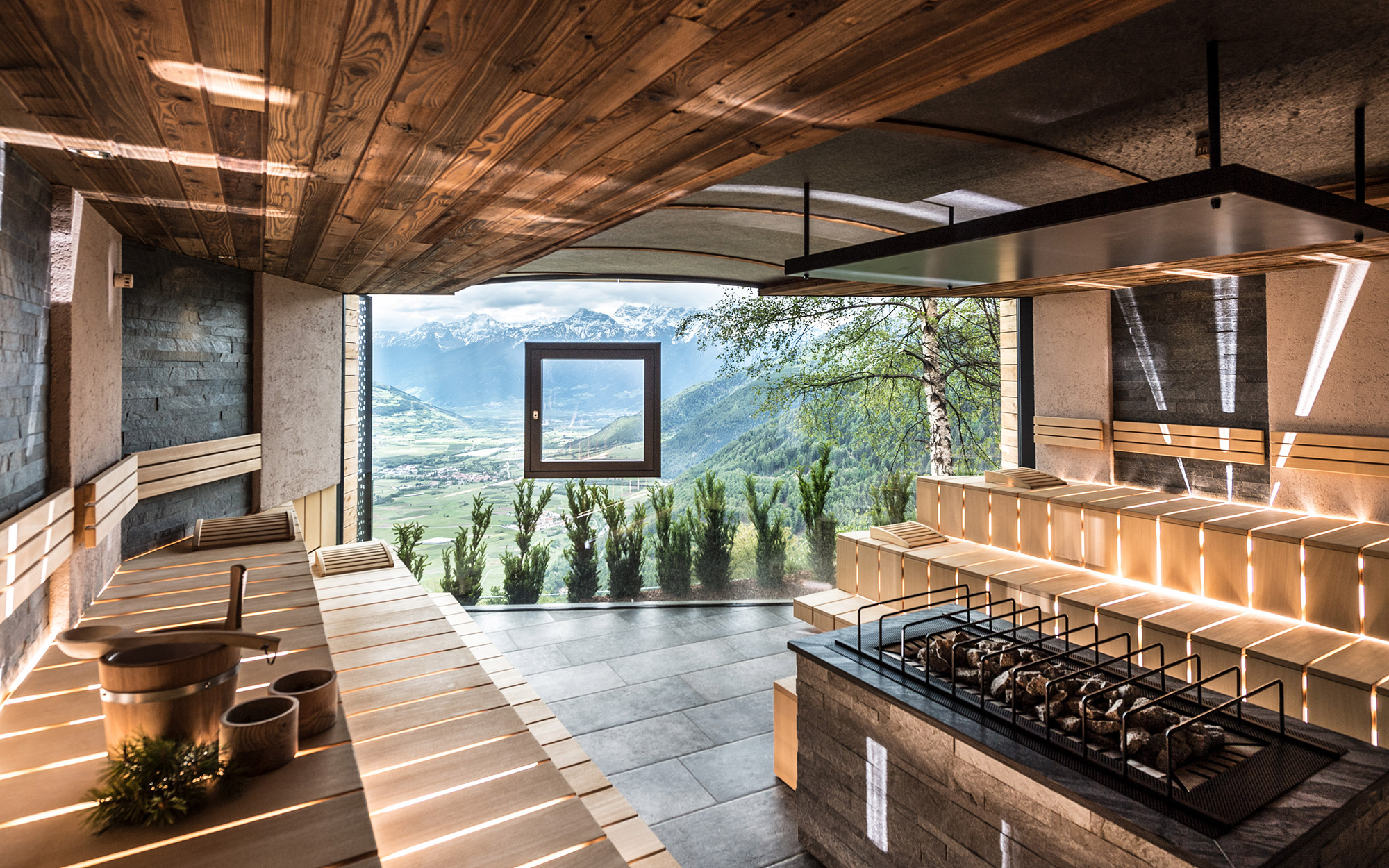 Alpin relax hotel das gerstl sauna world for Design hotel vinschgau