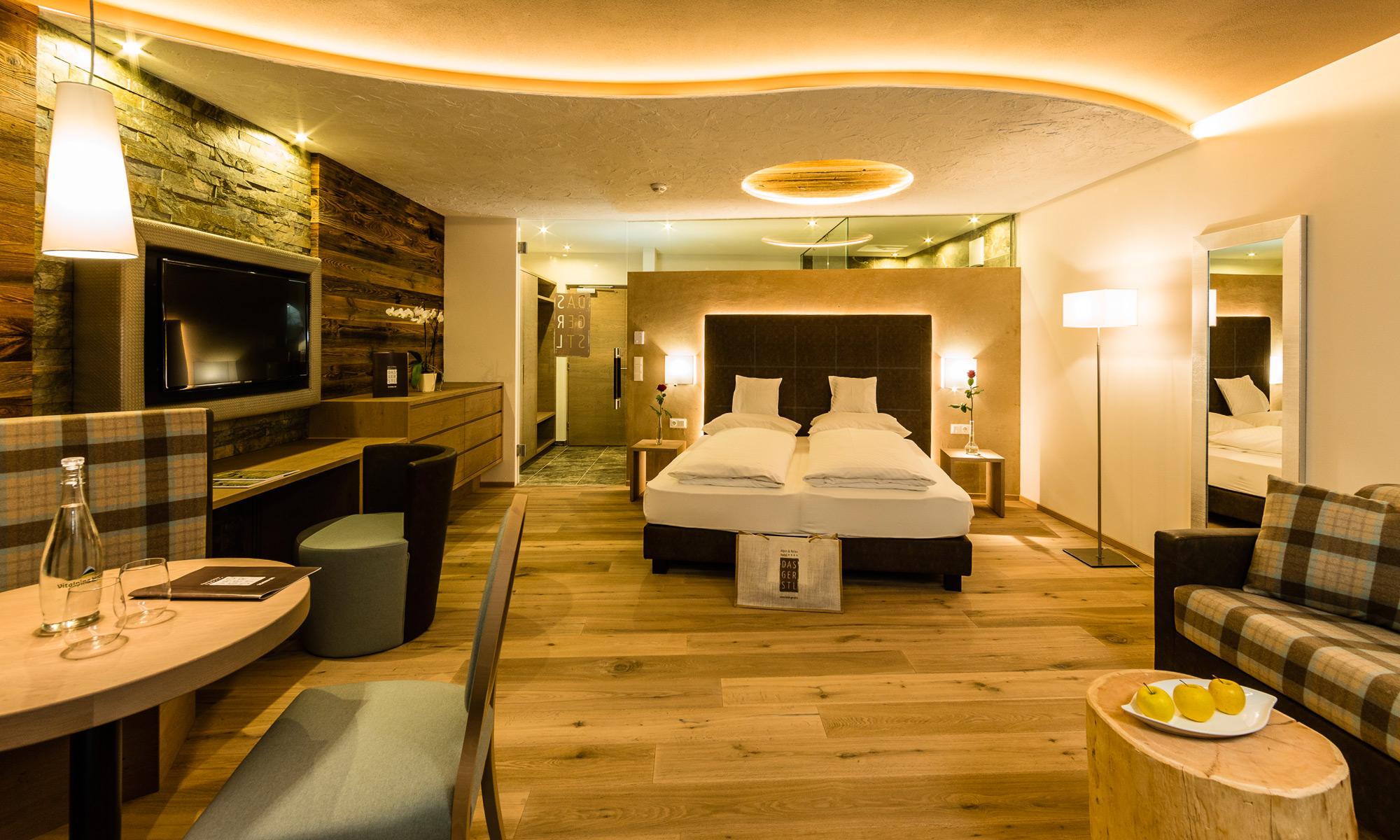 Alpin relax hotel das gerstl zimmer suiten for Zimmer hotel